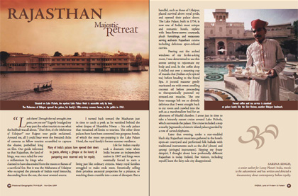 InDesign Magazine Layout - India